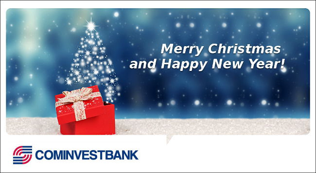 New Year eve greetings of Chairman of the Board of JSC «COMINVESTBANK»